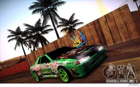 Elegy Toy Sport v2.0 Shikov Version para GTA San Andreas vista interior
