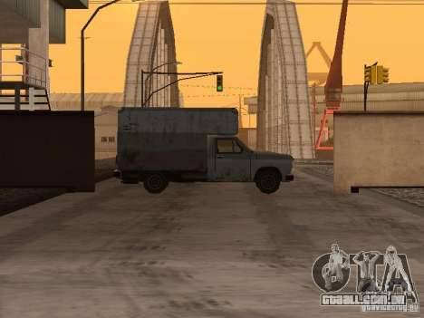 A base militar revivida em docas v 3.0 para GTA San Andreas segunda tela