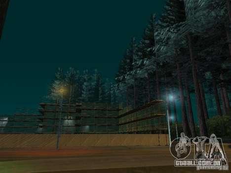 Floresta em Las Venturas para GTA San Andreas segunda tela