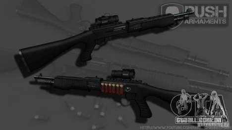 SPAS-12 Tactical para GTA 4 terceira tela