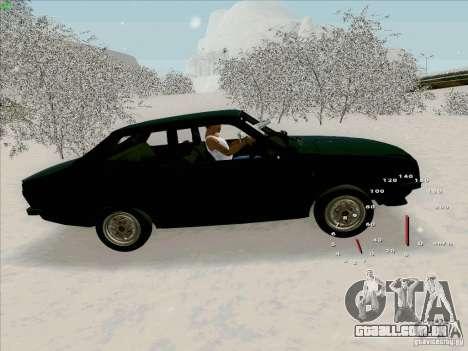 Dacia 1310 Sport para GTA San Andreas esquerda vista