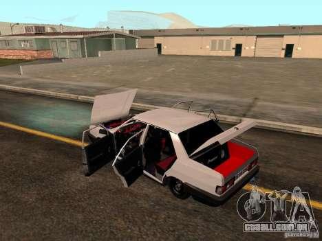 Tofas Sahin DRIFT para GTA San Andreas vista inferior