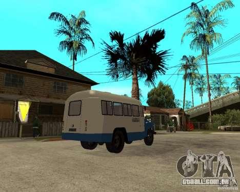 Kavz-685 para GTA San Andreas vista direita
