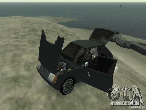 ZAZ Tavria 1102 para GTA 4 vista interior