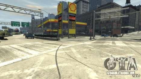 Shell Petrol Station para GTA 4 segundo screenshot