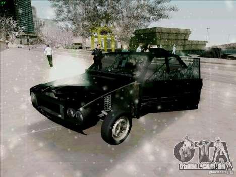 Dacia 1310 Sport para GTA San Andreas vista superior