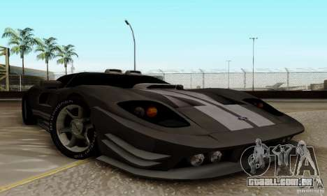Ford GT Tuning para GTA San Andreas esquerda vista
