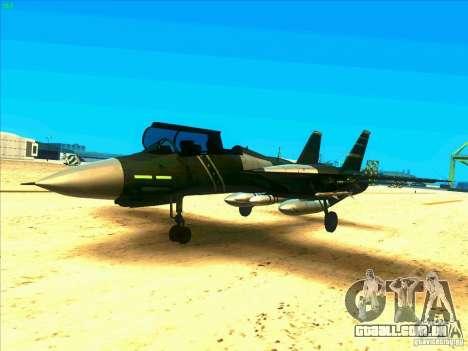 F-14 Tomcat Schnee para GTA San Andreas
