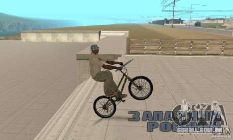 Trial bike para GTA San Andreas vista direita