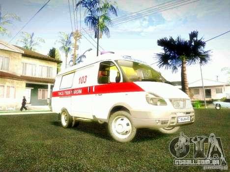 Gazela 2705 BAKU AMBULANS para GTA San Andreas