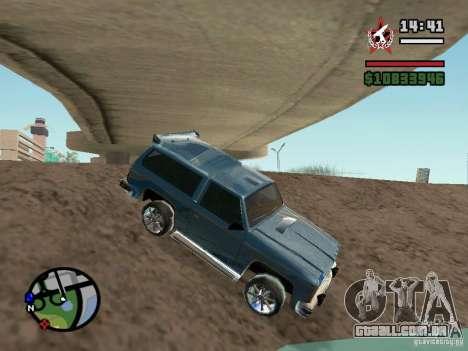 ENBSeries para GForce FX 5200 para GTA San Andreas por diante tela