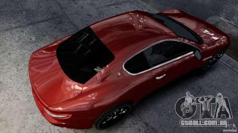 Maserati Gran Turismo 2008 Beta para GTA 4 esquerda vista