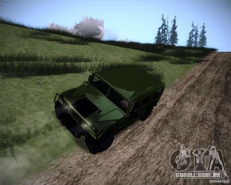 Hummer H1 Alpha para GTA San Andreas vista direita
