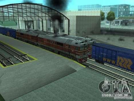 2TÈ121-023 para GTA San Andreas vista traseira