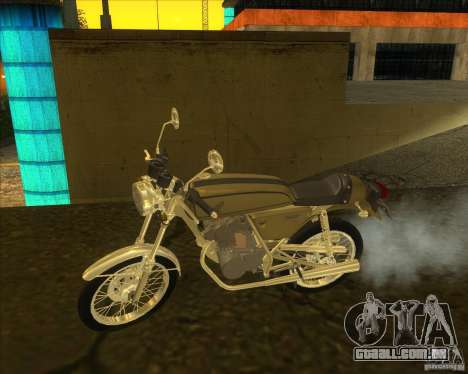 Honda Dream 50 para GTA San Andreas