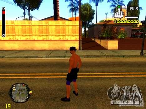 Pessoas da praia para GTA San Andreas terceira tela
