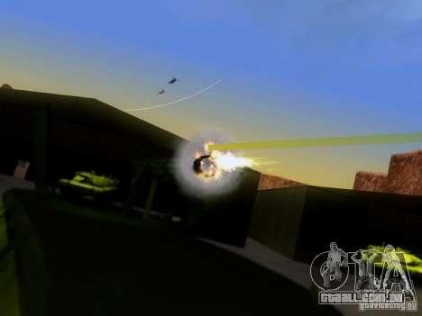 Suv Call Of Duty Modern Warfare 3 para GTA San Andreas esquerda vista