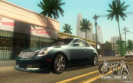 Infiniti G35 - Stock para GTA San Andreas