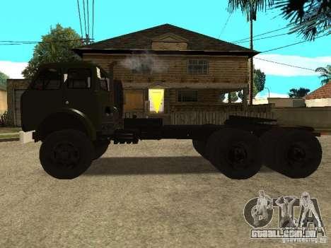 MAZ 515V para GTA San Andreas esquerda vista