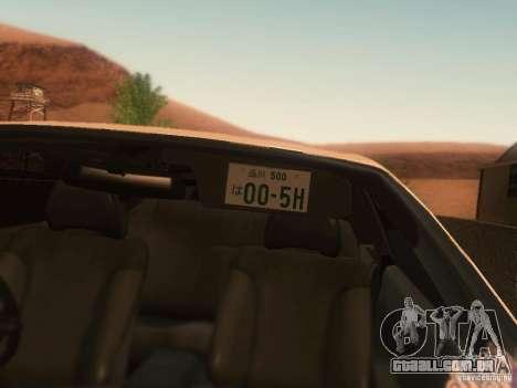 Nissan Skyline GTS R32 JDM para GTA San Andreas vista direita