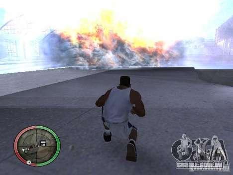 Dinamite MOD para GTA San Andreas por diante tela