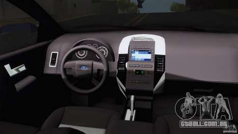 Ford Edge 2010 para GTA San Andreas vista direita
