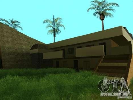 Novas texturas para casino peregrino para GTA San Andreas quinto tela