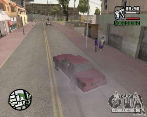 L.A. Mod para GTA San Andreas quinto tela