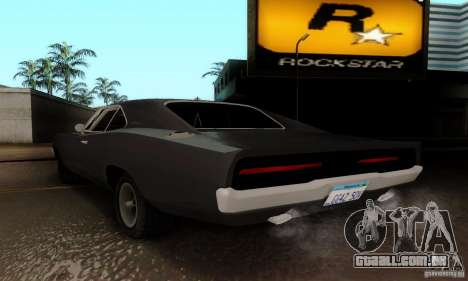 Dodge Charger RT para GTA San Andreas esquerda vista