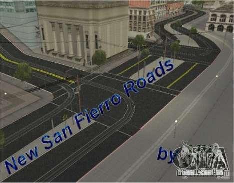 Nova estrada, San Fierro para GTA San Andreas