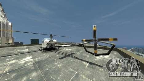 Sparrow para GTA 4 traseira esquerda vista