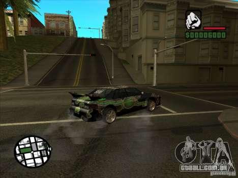 Novo vinil para Cultana para GTA San Andreas vista traseira