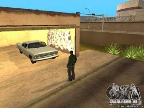 Ativação de garagens não utilizadas para GTA San Andreas