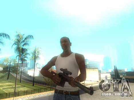 Rifle VSS Vintorez para GTA San Andreas