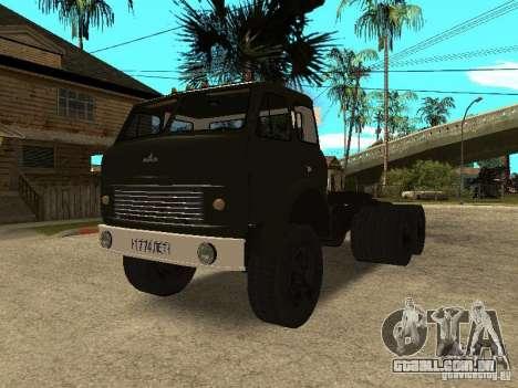 MAZ 515V para GTA San Andreas