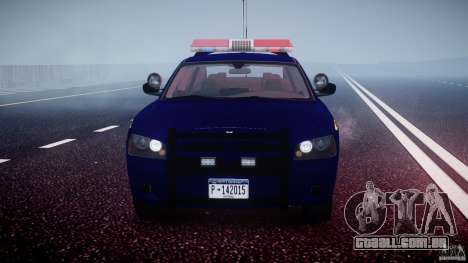 Dodge Charger NY State Trooper CHGR-V2.1M [ELS] para GTA 4 vista inferior