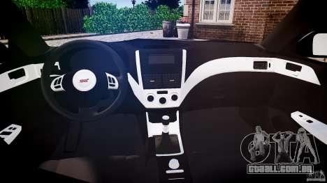Subaru Impreza WRX 2011 para GTA 4 vista direita