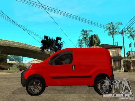 Fiat Fiorino Combi para GTA San Andreas esquerda vista