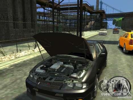 Nissan Skyline GT-R V-Spec (R33) 1997 para GTA 4 vista interior