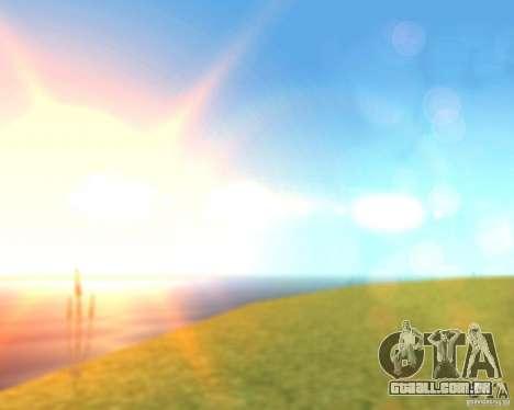 Real World ENBSeries v3.0 para GTA San Andreas por diante tela