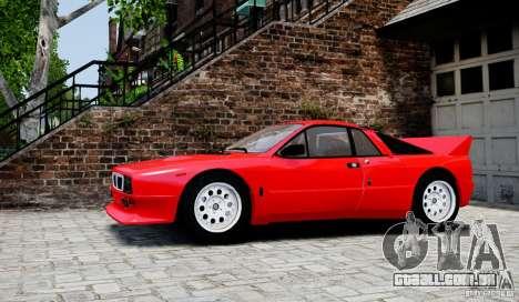 Lancia 037 Stradale para GTA 4 esquerda vista