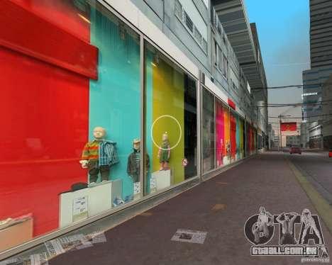 New Downtown: Shops and Buildings para GTA Vice City segunda tela