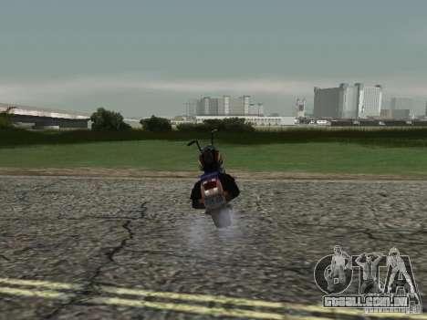Anjo de Vice City para GTA San Andreas traseira esquerda vista