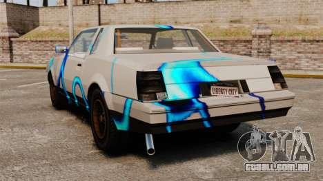 Rusty Sabre de libré, 69 para GTA 4 vista direita