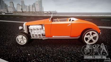 Hot Rod para GTA 4 esquerda vista