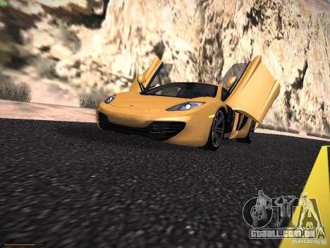 LiberrtySun Graphics ENB v2.0 para GTA San Andreas por diante tela