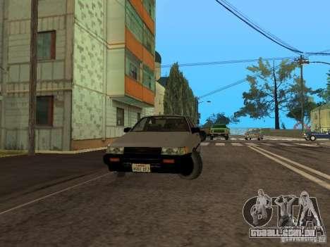 Toyota Corolla AE85 Levin GT-Apex para GTA San Andreas esquerda vista