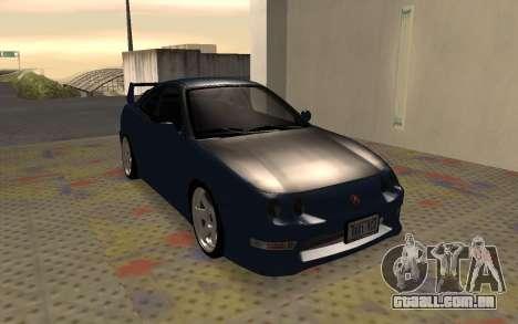 Acura Integra Type R 2000 para GTA San Andreas esquerda vista