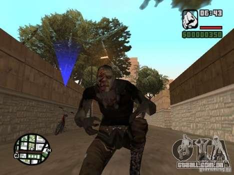 Zombe from Gothic para GTA San Andreas terceira tela