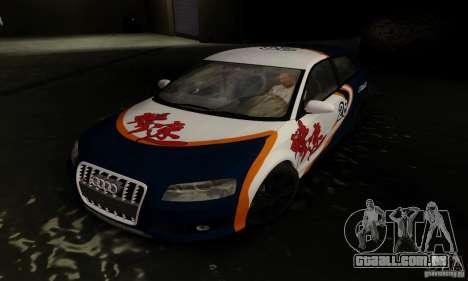 Audi S3 para GTA San Andreas vista direita